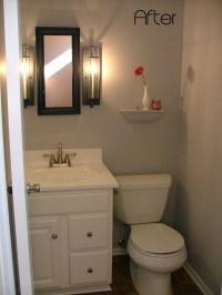 Half bathroom remodel Photo