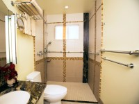 Handicapped accessible bathrooms - large and beautiful ...