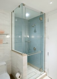 Small showers for small bathrooms - large and beautiful ...