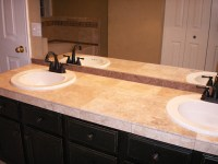 Tiled bathroom countertops Photo - 6 | Design your home