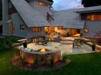Backyard design ideas with fire pit Photo - 5 | Design ...