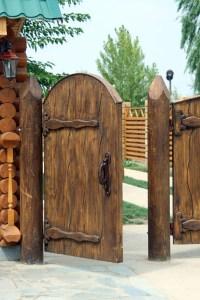 Backyard fence door Photo - 4   Design your home