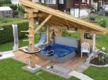 Backyard hot tub designs Photo - 5 | Design your home