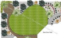 Backyard landscape design - large and beautiful photos ...