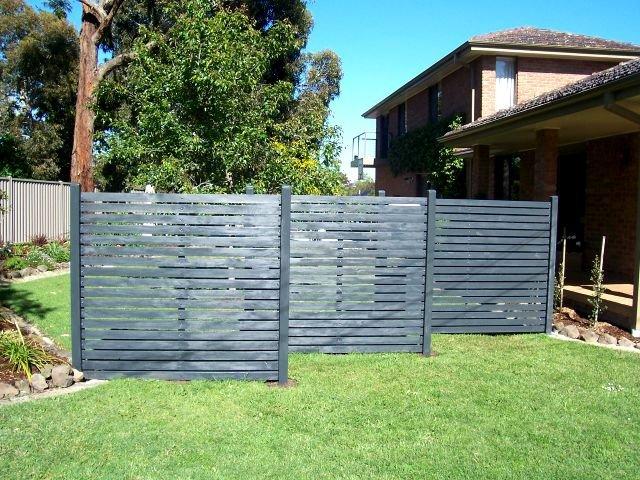 Backyard Privacy Wall