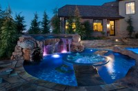 Backyard spa designs
