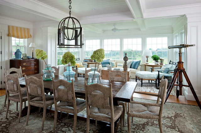 Beach House Dining Room Large And Beautiful Photos Photo To