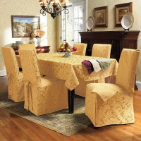 Dining room table chair covers Photo - 1 | Design your home
