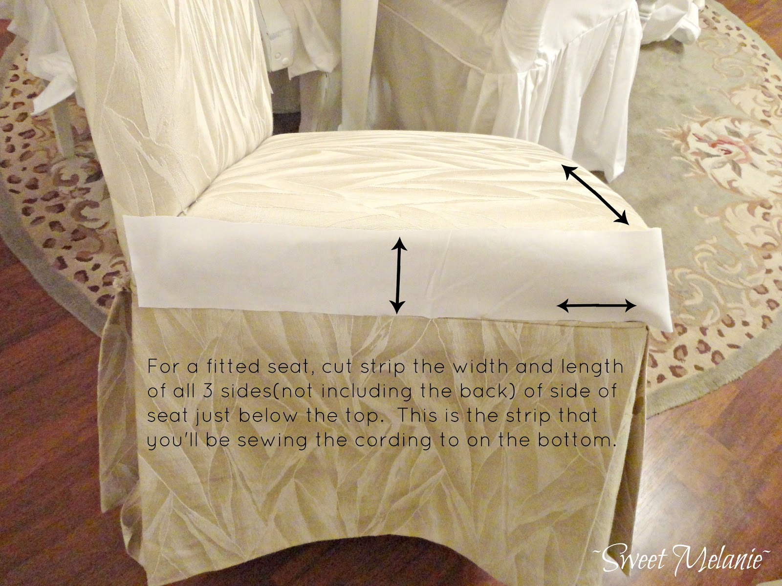 how to make chair covers at home deck chairs uk dining slipcovers large and beautiful