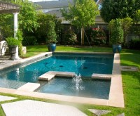 Beautiful backyard pools