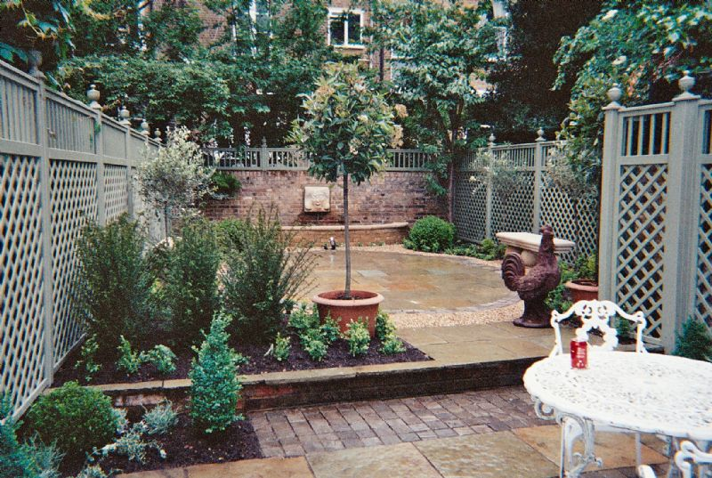 Landscape Ideas For Small Backyards Photo 1 Design Your Home