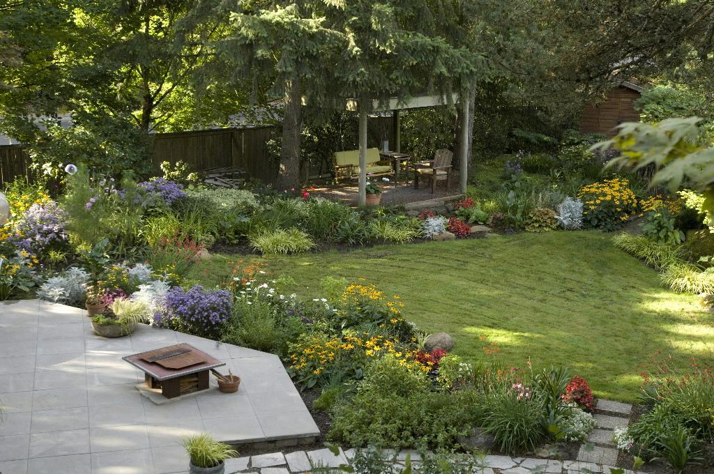 Small backyard makeover on a budget