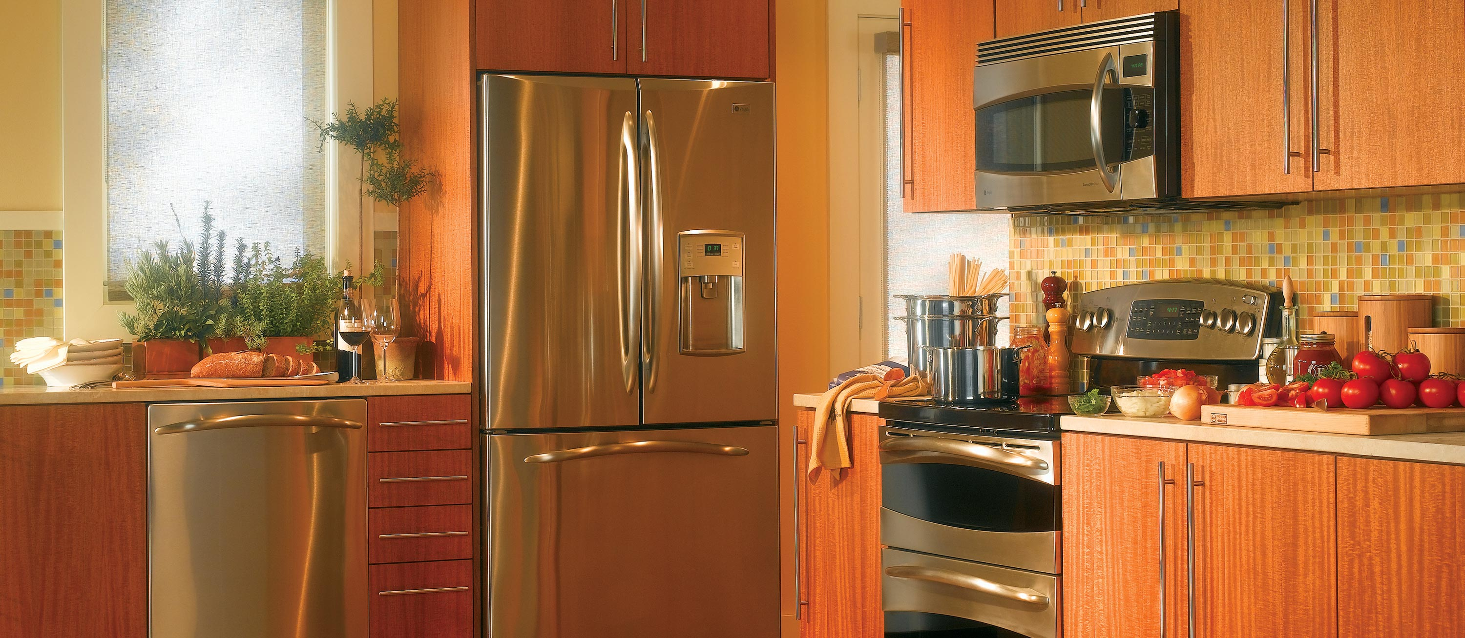 appliances for small kitchens kitchen floor options spaces large and beautiful