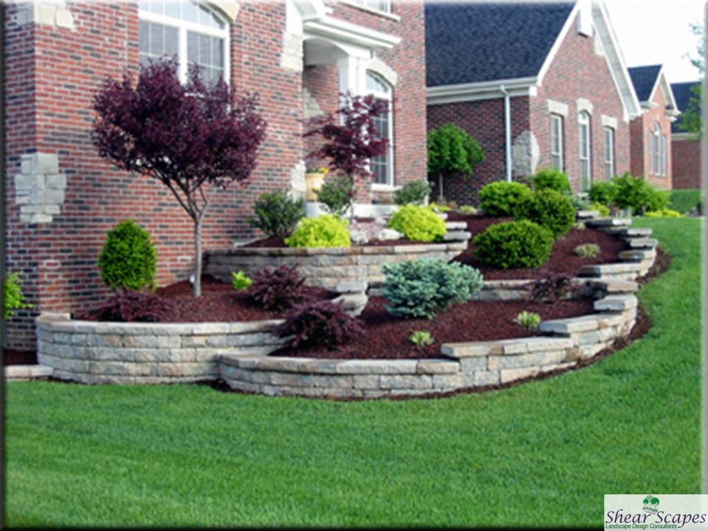 average cost to landscape front yard