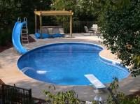 Backyard inground pool designs - large and beautiful ...