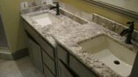 Bathroom granite countertops - large and beautiful photos ...