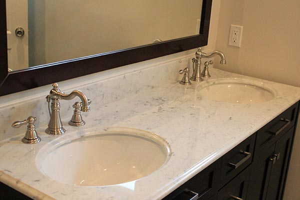 bathroom marble countertops - large and beautiful photos. photo to