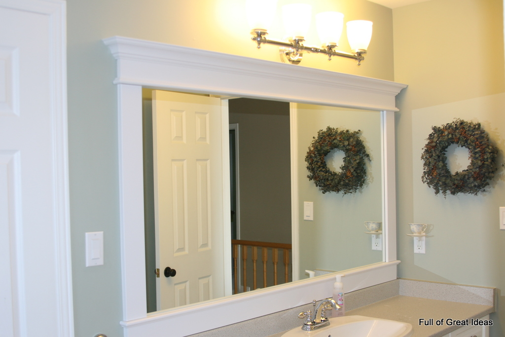 bathroom mirror frame - large and beautiful photos. photo to