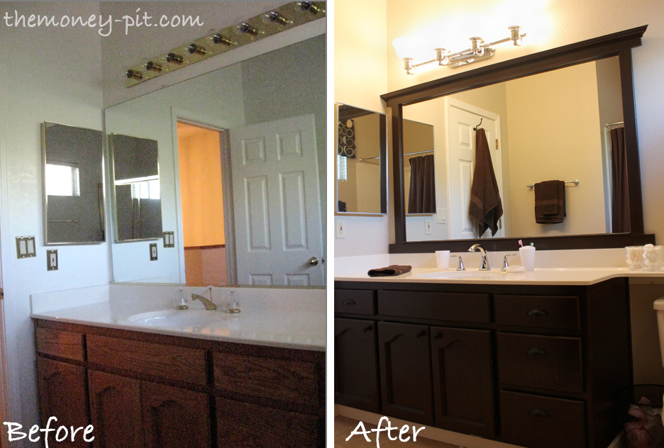 bathroom mirror frames - large and beautiful photos. photo to