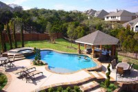 Beautiful backyards with pools - large and beautiful ...