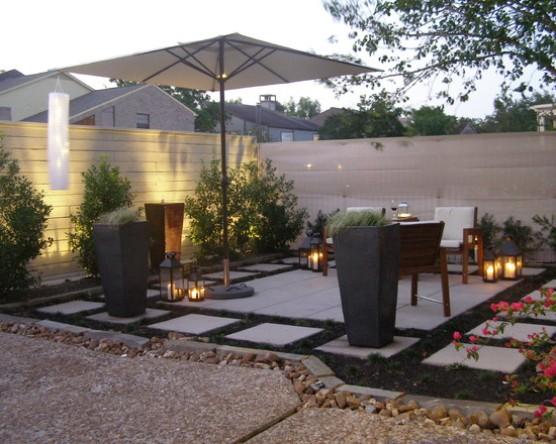 cheap patio ideas backyard