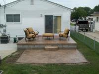 Concrete patio ideas for small backyards - large and ...