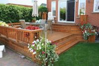 Deck and patio ideas for small backyards - large and ...