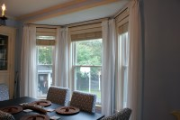 Dining room window curtains - large and beautiful photos ...