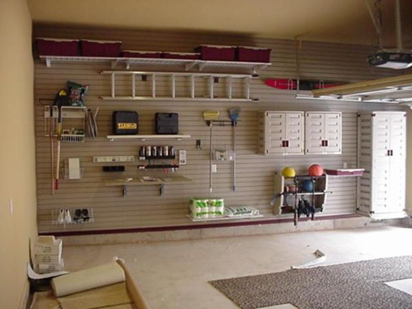 Garage decorating ideas
