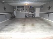 Dallas Cowboys Garage Idea
