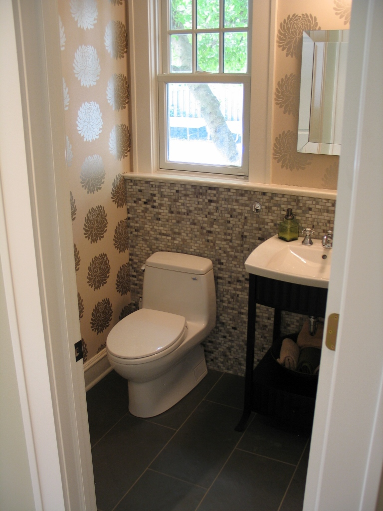 half bathroom remodel - large and beautiful photos. photo to