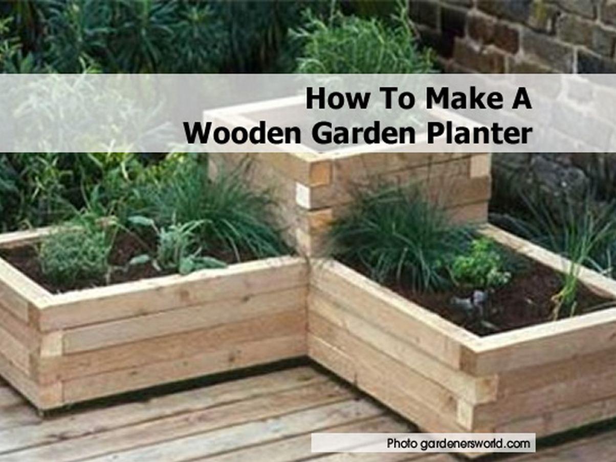 How Create Garden Box