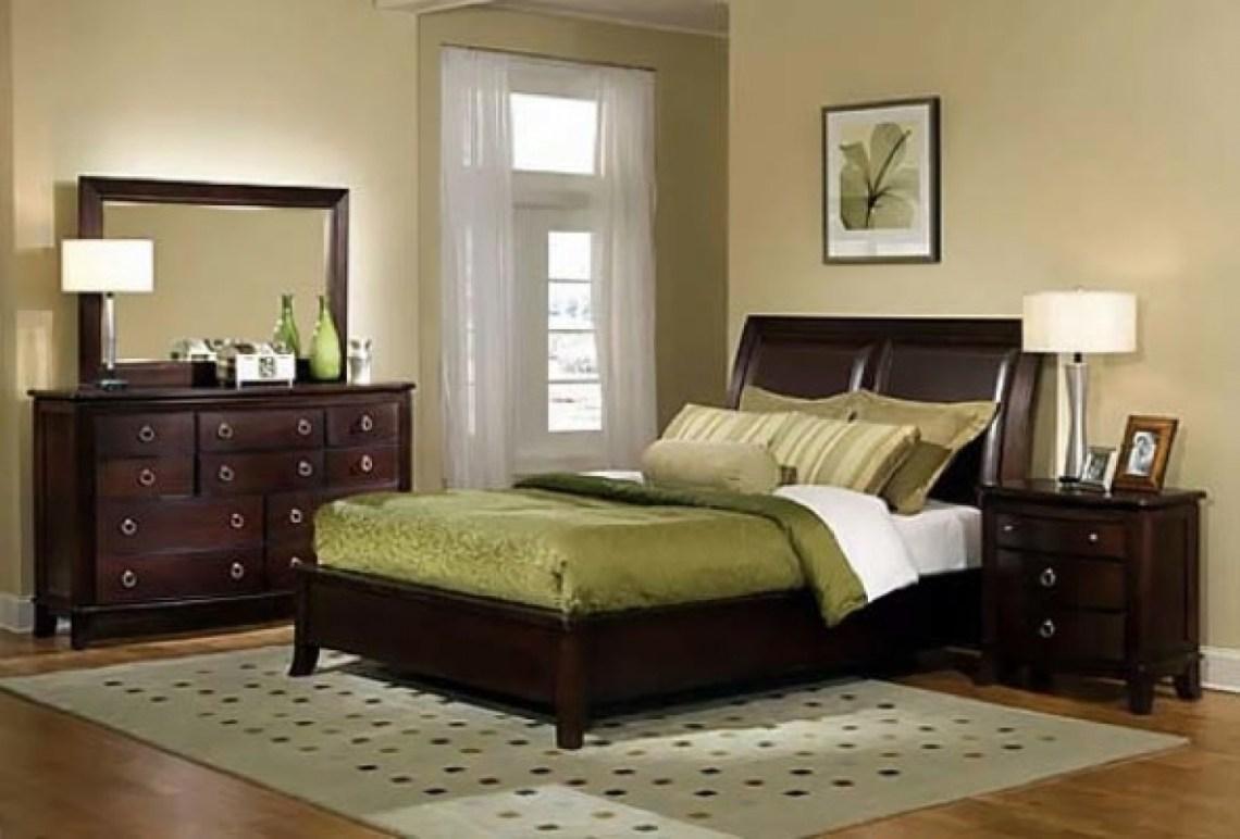 Neutral Bedroom Ideas With Dark Furniture Design Corral