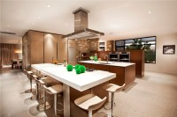 Open floor plan kitchen dining living room - large and ...