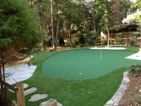 Outdoor putting greens your backyard - large and beautiful ...