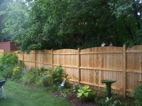 Privacy fence ideas for backyard - large and beautiful ...