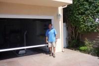 Screen doors for garage door opening - large and beautiful ...