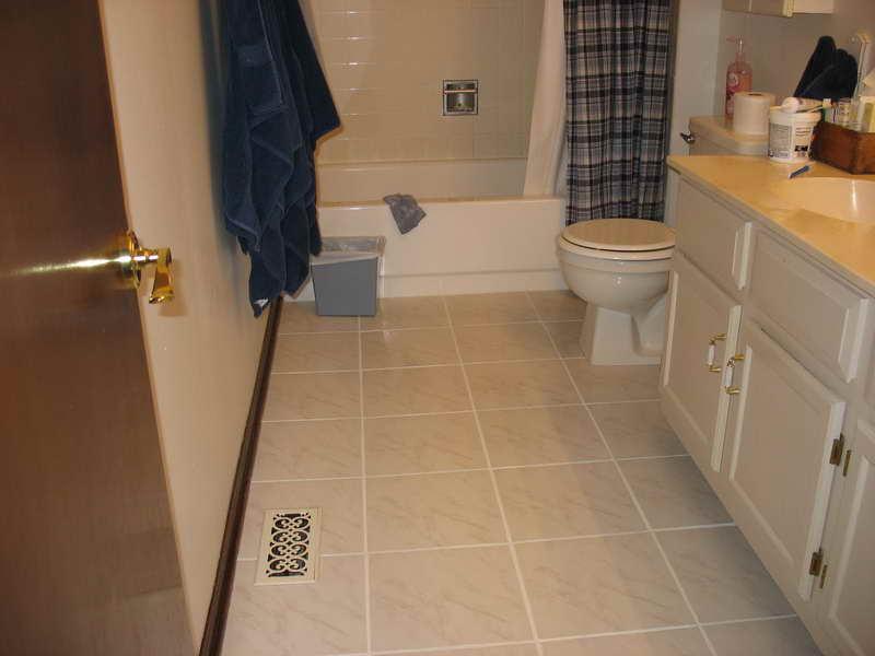 Best Size Floor Tile For A Small Bathroom Bathroom Mosaic Feliciabrose