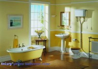 Yellow bathroom decor - large and beautiful photos. Photo ...