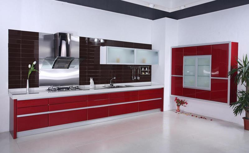 27 Thiết kế nhà bếp màu đỏ hoàn toàn tuyệt vời-14