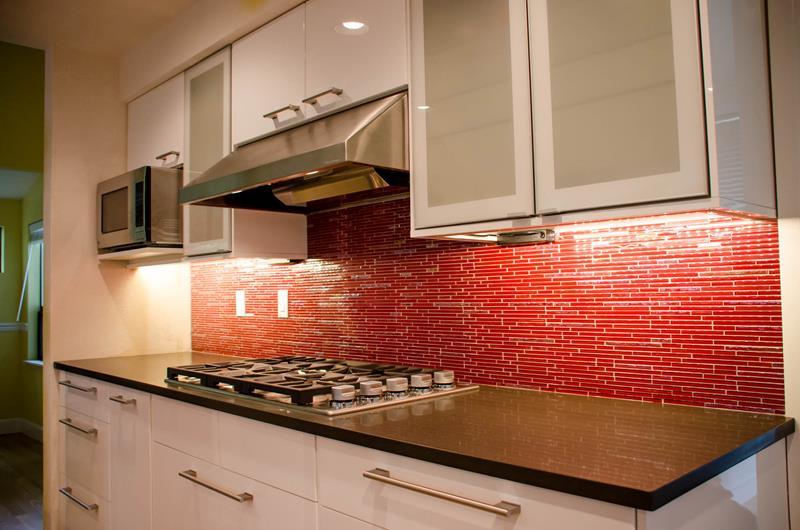27 Thiết kế nhà bếp màu đỏ hoàn toàn tuyệt vời-26