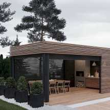 Incredible Cozy Outdoor Rooms Design And Decorating Ideas 0009