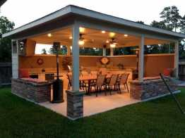 Incredible Cozy Outdoor Rooms Design And Decorating Ideas 0028