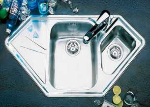 Beautiful Corner Kitchen Sink 0010