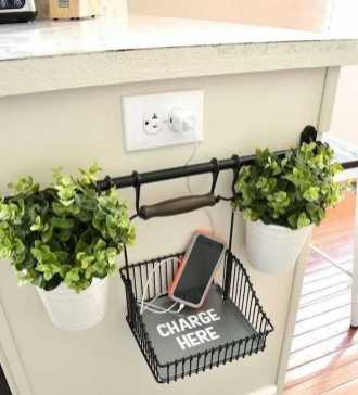 Functional Kitchen Charging Stations 0013