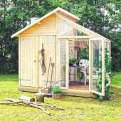 Wooden Sheds Ideas For Installing 0026