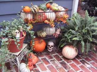 DIY Halloween Decorating Ideas & Projects0014