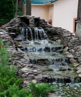 Wall Waterfall Outdoor Fountain Kits0011