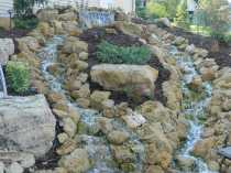 Wall Waterfall Outdoor Fountain Kits0014