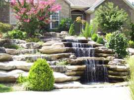 Wall Waterfall Outdoor Fountain Kits0016